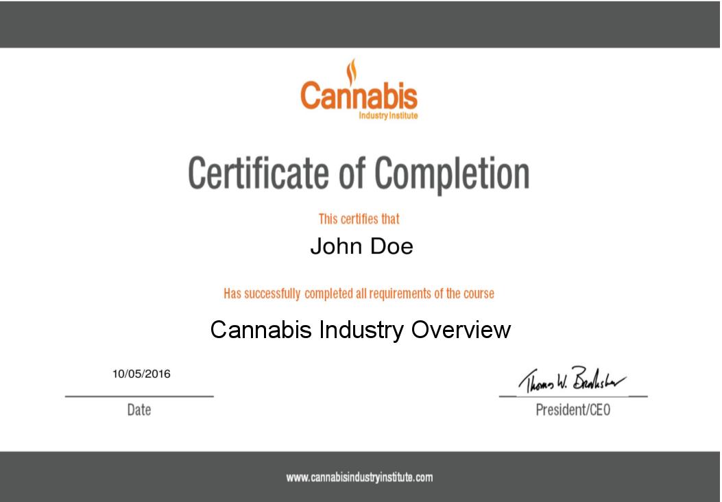 Vangsters Training | Cannabis Industry Institute